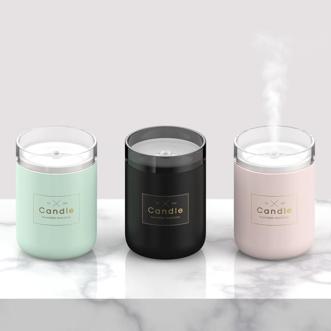 Led Candles Essentials Oils Diffuser Best Goodie Shopping Decor Decoration Interiordesign Hom Candle Diffuser Air Humidifier Essential Oil Candles