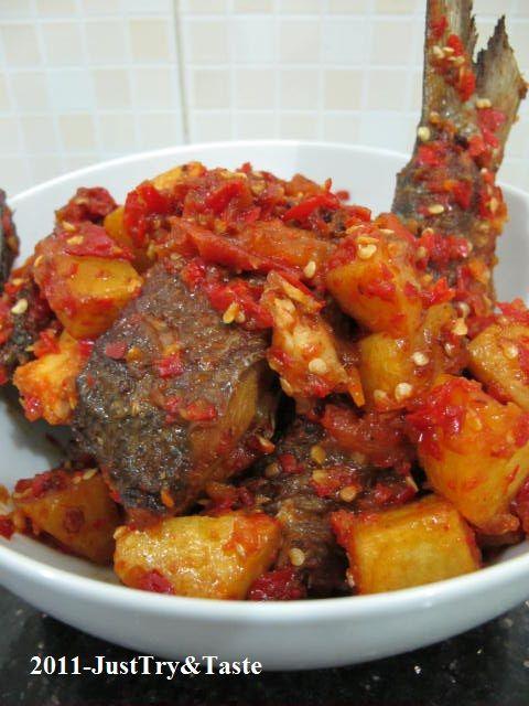 Balado Ikan Bandeng & Kentang | Just Try & Taste