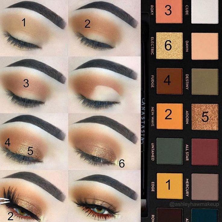 Subculture Anastasia Beverly Hills Palette Eyeshadow Lidschatten Makeup #eyeshadowsideas