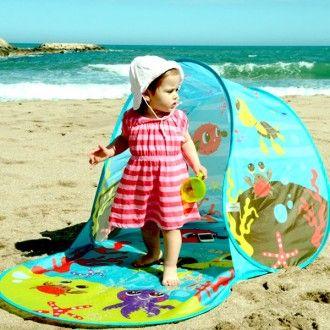 Tienda de campaña de playa