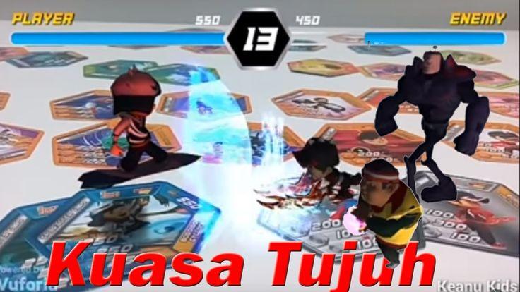 Pertarungan Terkuat Boboiboy Halilintar VS Taufan(Cyclone) Kuasa Tujuh -...