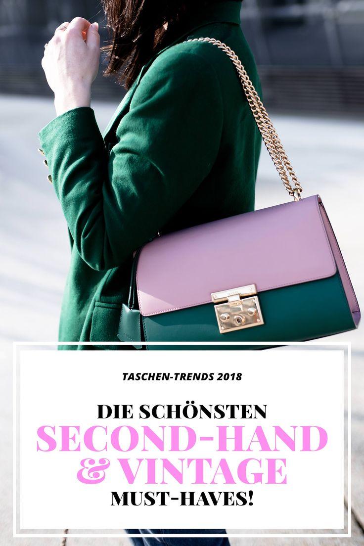 Taschen Trends 2018, Vintage Taschen Online Shop, Second Hand Taschen online kaufen, Tipps und Tricks zum Vintage Shopping, Welche Tasche passt zu mir, welche Taschen sind in und modern, Fashion Blog, Modeblog, www.whoismocca.com