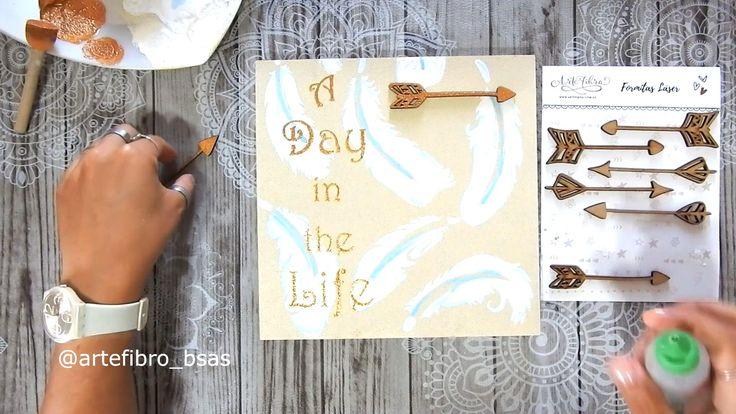 Te enseñamos a hacer un anotador de pared con un bastidor de fibrofacil @encadarincon123 Diy, Room, Crafts, Ideas, Home, Wooden Hearts, Inspiring Art, Fonts, Pintura