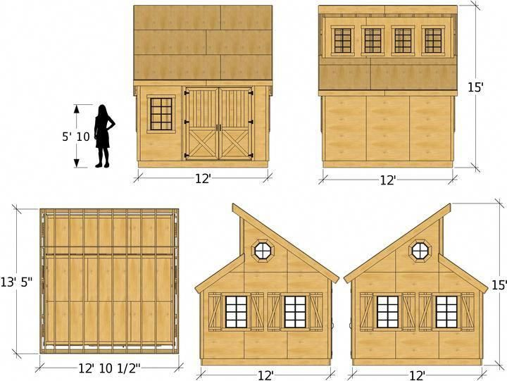 10x10 12x12 Irene Shed Plan Shed Roof Design Diy Shed Plans Shed Plan