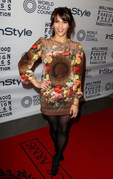 Paula Patton in Dolce and Gabbana at the 2012 InStyle Toronto Film Festival Party