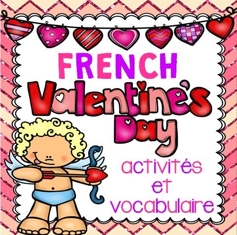 This French Valentine's Day package includes 11 activities, 41 vocabulary cards and a variety of 12 Valentine's Day cards that you can use in the weeks leading up to Valentine's Day.
