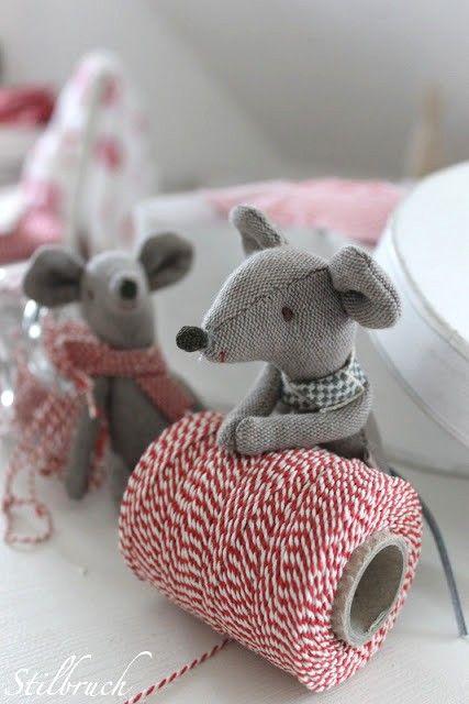 Cute Christmas mice
