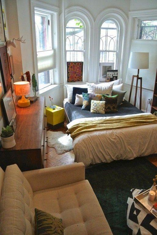 25 cozy small studio apartment interior ideas studio - Small studio apartment layout ...