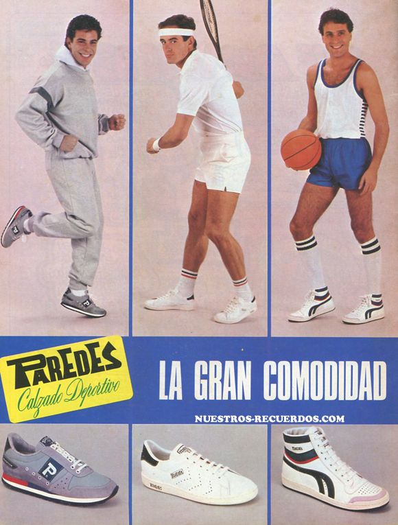 publicidad Zapatillas Paredes  #paredes #publicidadantigua #vintage