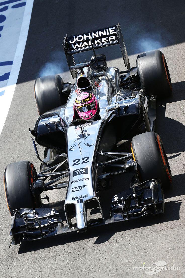 Jenson Button, McLaren MP4-29 - Position 8th - Points 126 #britairtrans #f1