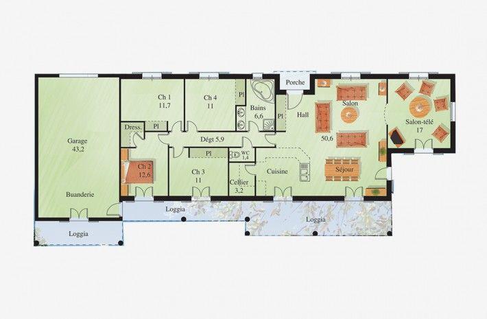 83 best images about maison on pinterest villas 1 and photos. Black Bedroom Furniture Sets. Home Design Ideas