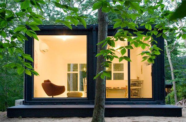 Containerhus – den minimalistiska funkisdrömmen – Sköna hem