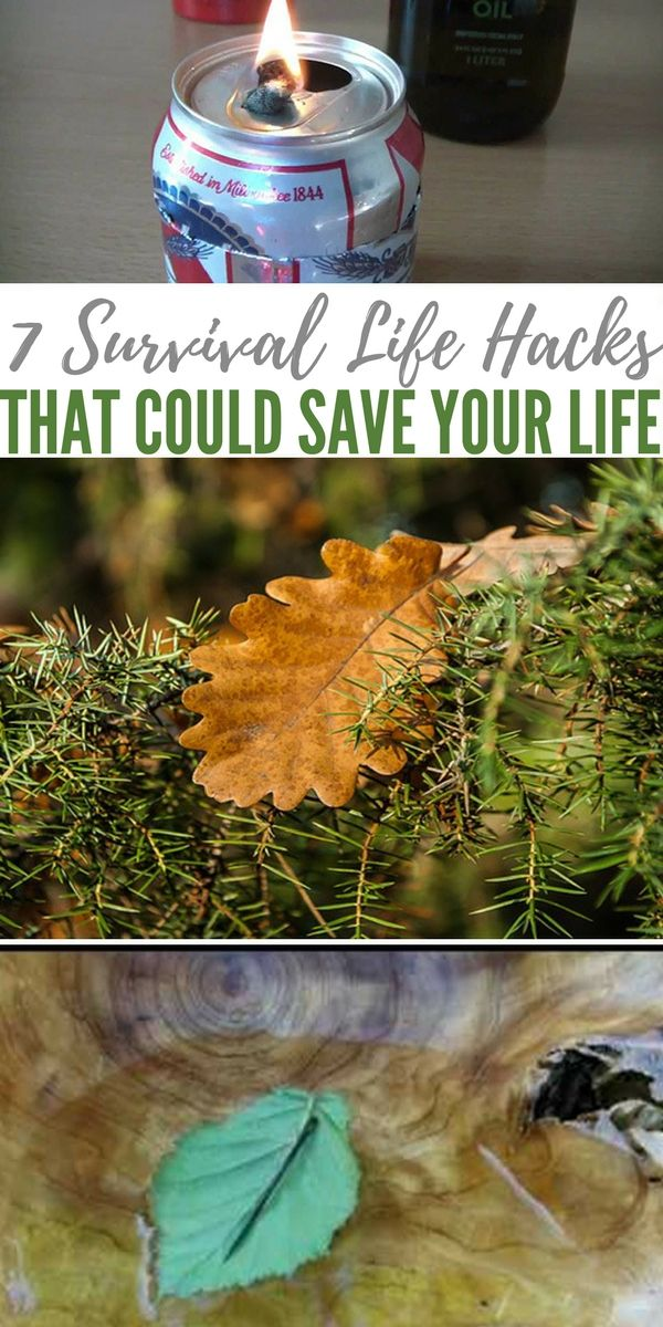 7 Survival Life Hacks That Could Save Your Life - shtf