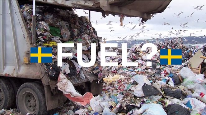 Sweden garbage