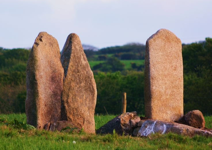 """Carwynnen Quoit, June 21, 2014: """"witness the final phase of a remarkable community project to excavate and restore the 5000 year-old megalith of Giant's Quoit."""""""