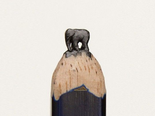 Diem Chau Carves Pencil Tips Into Incredible Miniature Animal Sculptures! | Inhabitat - Sustainable Design Innovation, Eco Architecture, Green Building