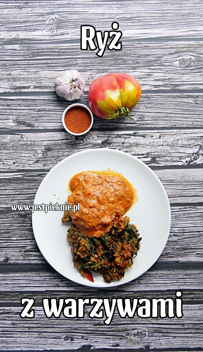 ryz z warzywami - Jest Pięknie