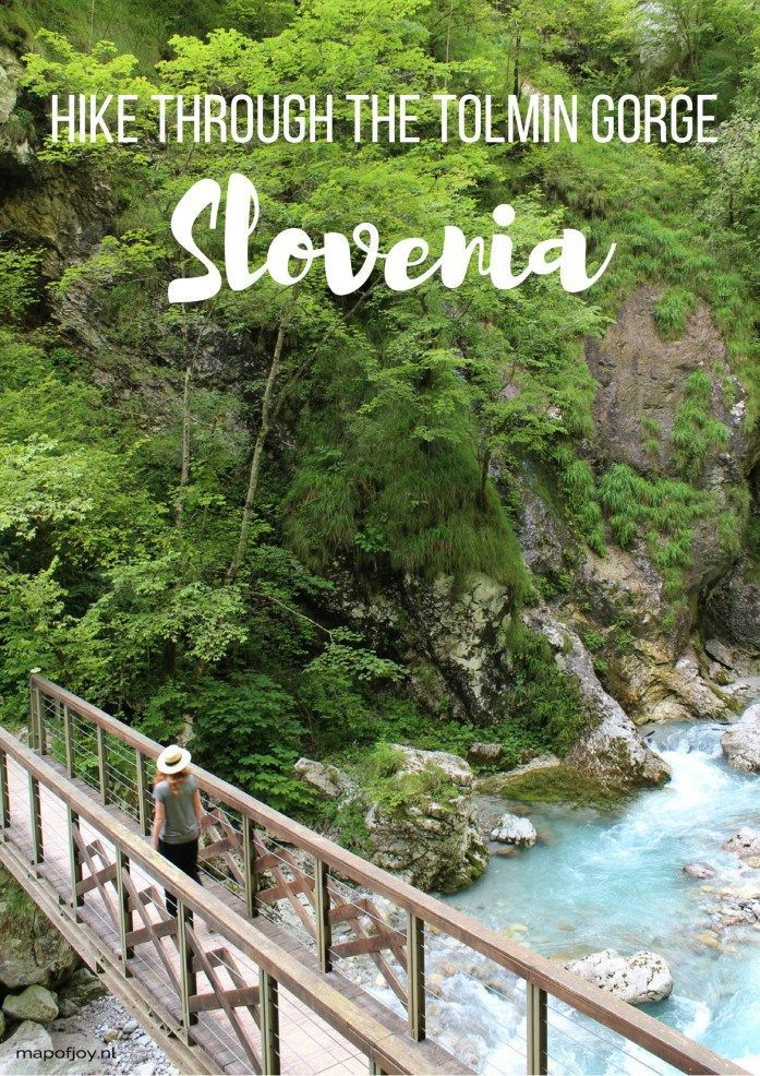 Hike through the Tolmin Gorge in Slovenia - travel report by Map of Joy, travel, park, world, europe