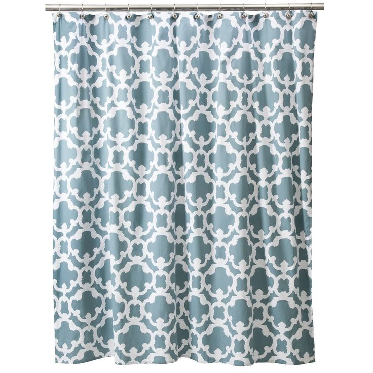 Threshold Grid Shower Curtain Home Blue Home Decor Pinterest Cas Home And Blue