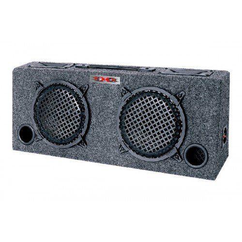 "NEW xXx KIC80 2) 8"" Car Audio Subwoofers Subs + Box Enclosure + 5"" Tweeters"