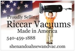 Riccar Vacuums - The First Name in Vacuums that Last