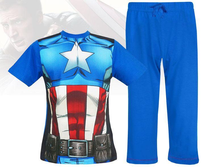 "Męska piżama Avengers ""Captain America"" M"