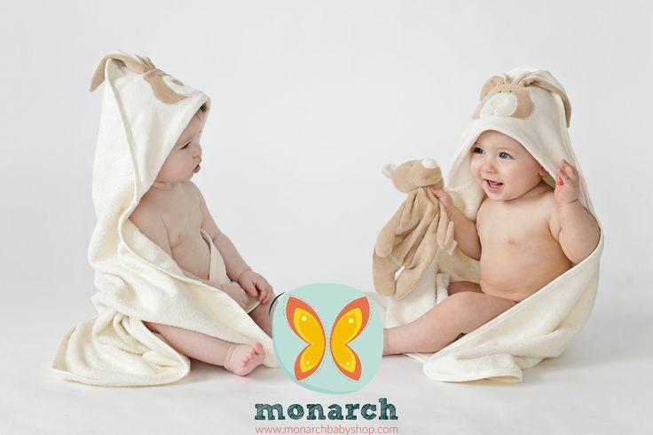 Las toallas Woolly Organic son hechas con algodón 100% orgánico certificado GOTS. Disponibles en Bunny y Teddy.