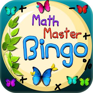 Math Master Bingo - Easy to use, only one player.