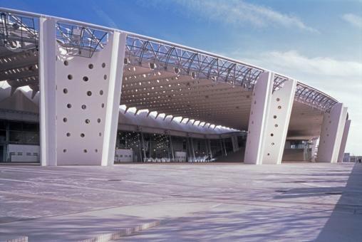 Big Palette Fukushima by AKA - Atsushi Kitagawara Architects as Architects