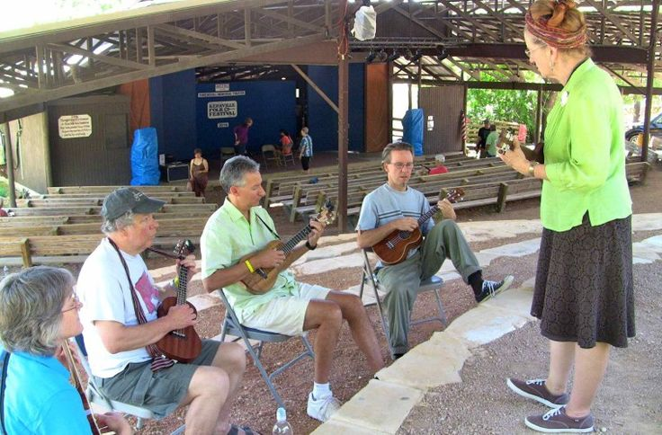 Deep In The Heart of Ukulele at the Kerrville Folk Festival – Ukulele