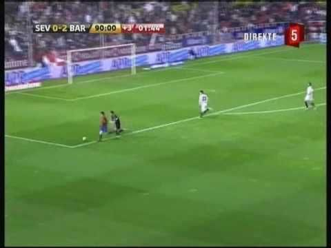 FC Barcelona - All goals scored in La Liga 2008/2009 first part of the s...