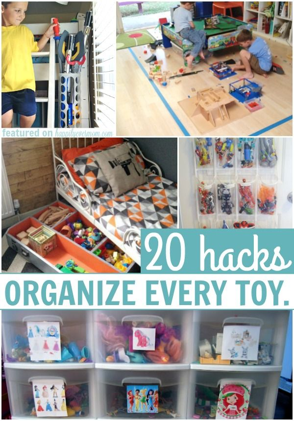 20 Hacks to Organize all of Your