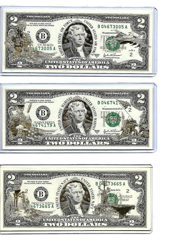 1 Collectible FAKE MONEY-ITEM A U.S Navy  Dollar Bill  Novelty