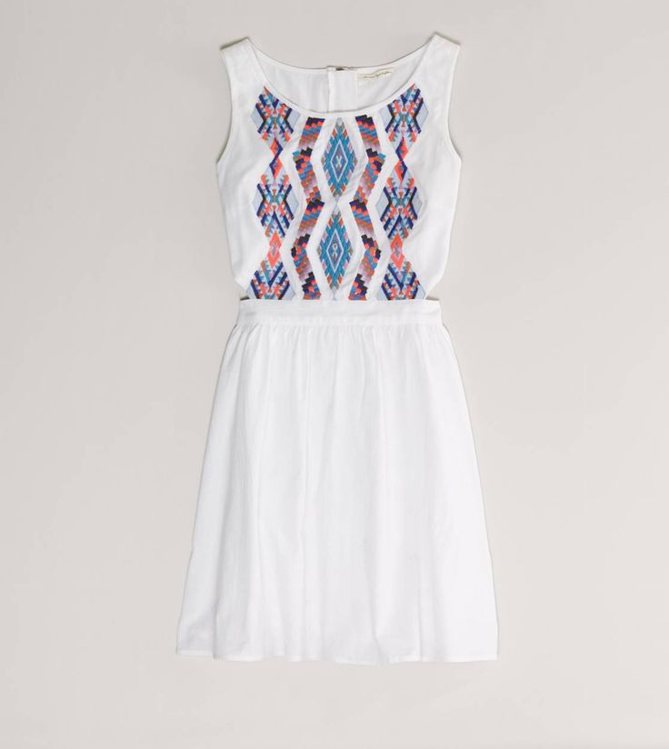 Pretty white embroidered dress,I need help finding this dress because American eagle no longer carries this.