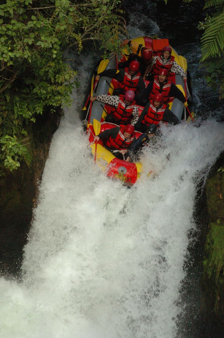 Epic white water rafting on the Kaituna River (the highest commercial rafted waterfalls in the world). Not for the faint hearted.