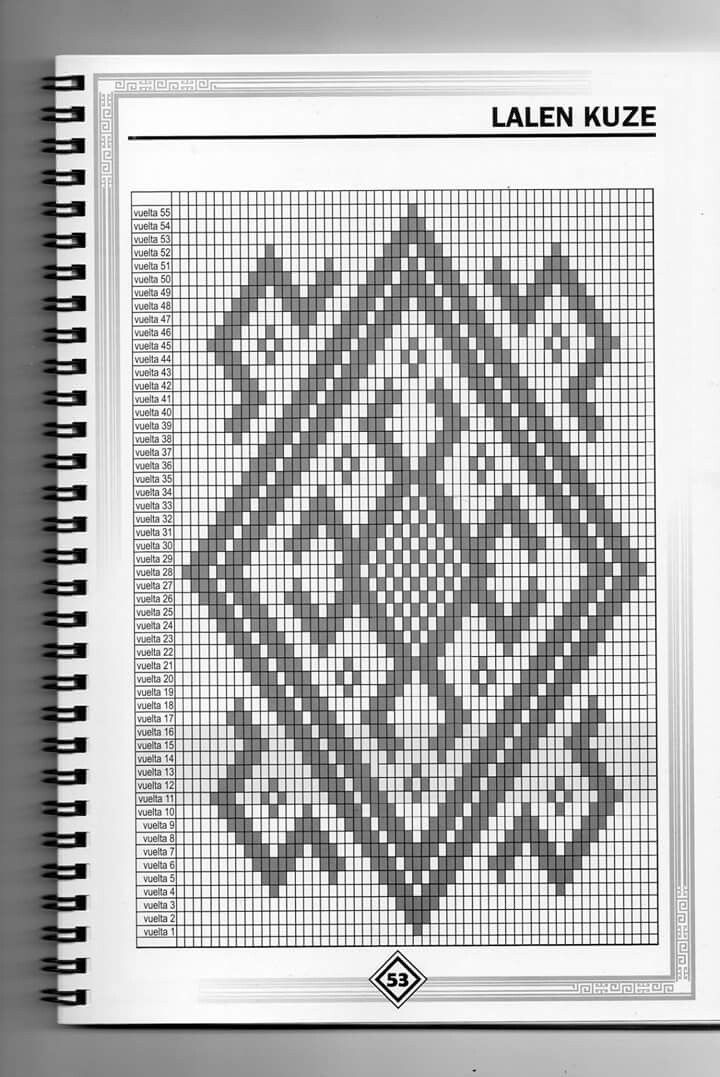 Resultado de imagen para diseños para tejer en telar mapuche   telar ...