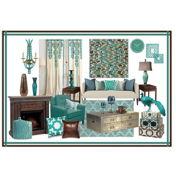 Gray And Teal Living Room By Jurzychic On Polyvore: 1000+ Images About Teal Me A Story On Pinterest