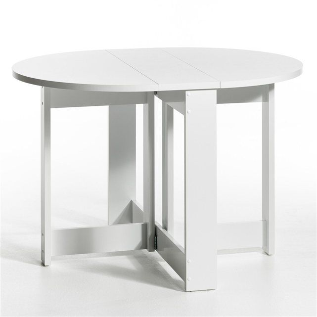 Table Ronde Conforama. table ronde fjord coloris blanc conforama ...