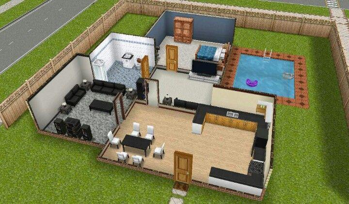 the sims freeplay house! | sims freeplay house ideas | pinterest