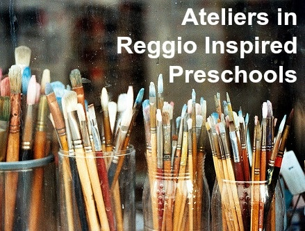 The Atelier is a place where children can experiment and create with many different types of media. Here are some Reggio-inspired preschool ateliers for your viewing. Enjoy!