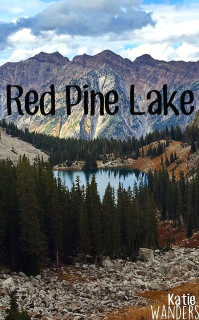 Hiking to Upper and Lower Red Pine Lake in Utah