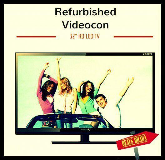 Refurbished Videocon 32 inch LED TV for 6599 INR | Deals Dhaba