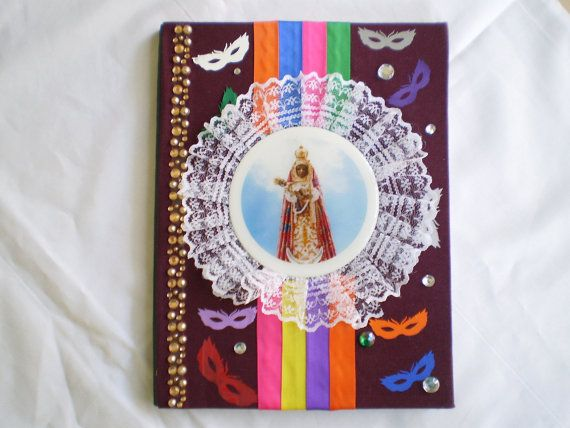 Oya Orishas Yansa Decorated Notebook for Ita by OshaDesigns