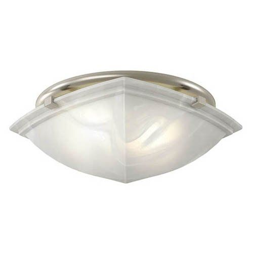Broan Nutone 766bn Decorative Brushed Nickel Fan Light From Master Bathroom