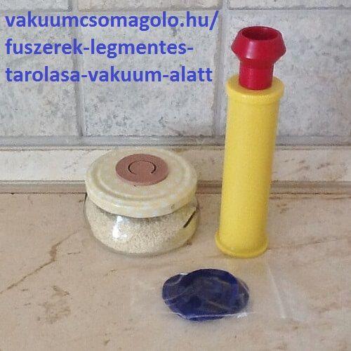 szezámmag praktikus tárolása olcsó befőttesüvegben