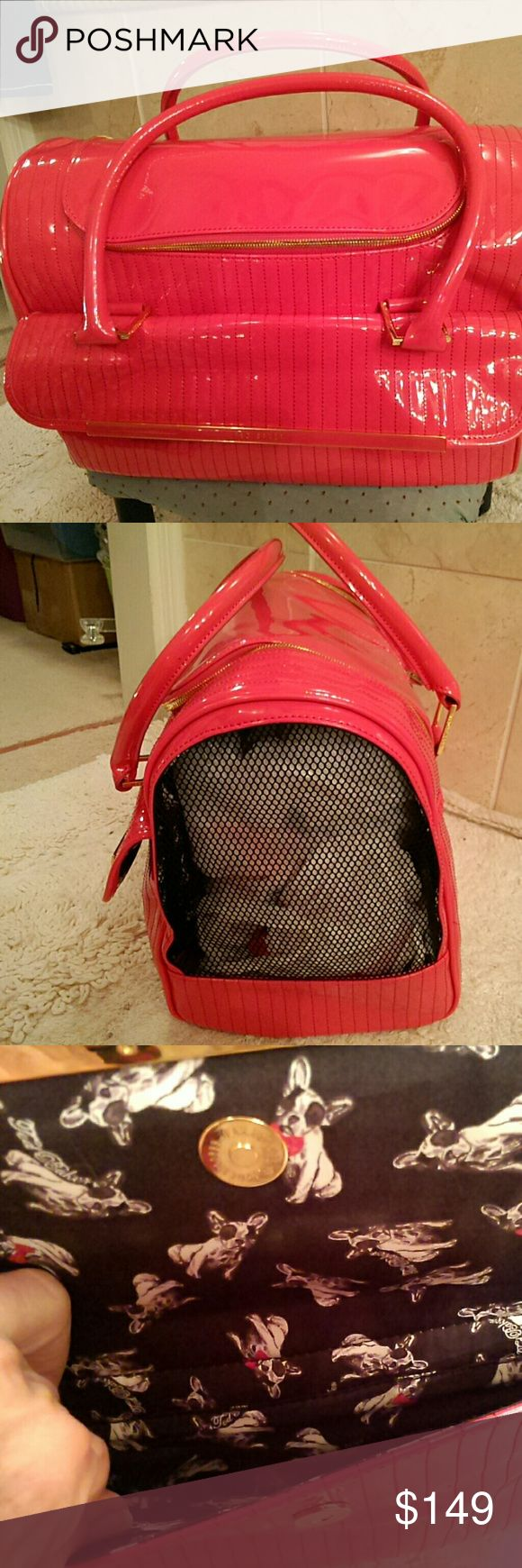 Selling this Sale**Hot pink Ted Baker pet carrier in my Poshmark closet! My username is: sanness. #shopmycloset #poshmark #fashion #shopping #style #forsale #Ted Baker #Handbags