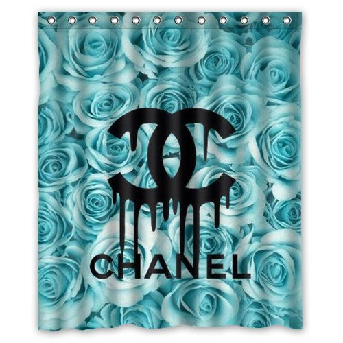 Coco Chanel Custom Shower Curtain by TheReefByGary on Etsy