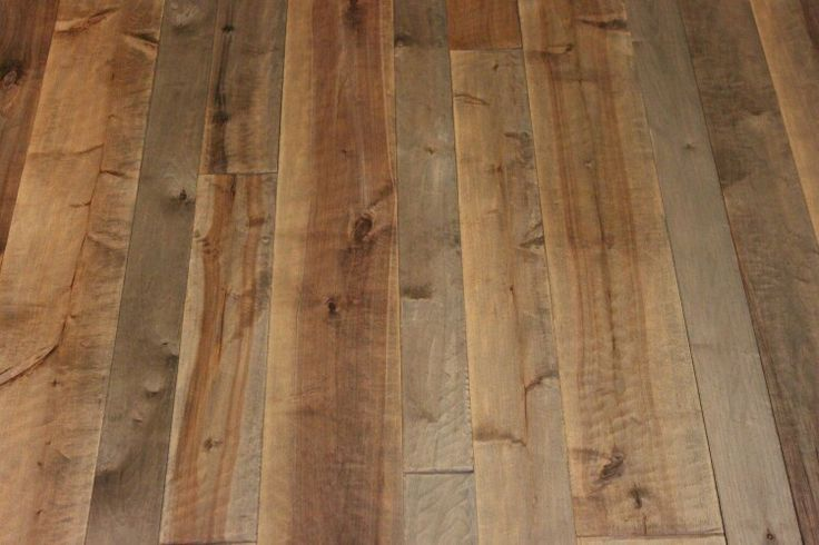 Smoked Birch 3 4 6 Inch Plank Finished With Woca Oil