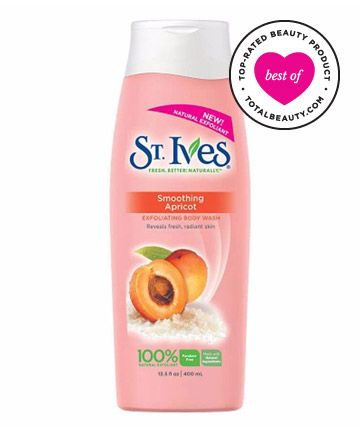 Best Body Scrub No. 13: St. Ives Smoothing Apricot Body Wash, $4.24