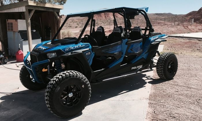 Adrenaline ATV Tours - Centennial Hills: Valley of Fire Polaris RZR ride along tour for One or Up to Three from Adrenaline ATV Tours (Up to 50% Off)